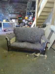 sofa before recover